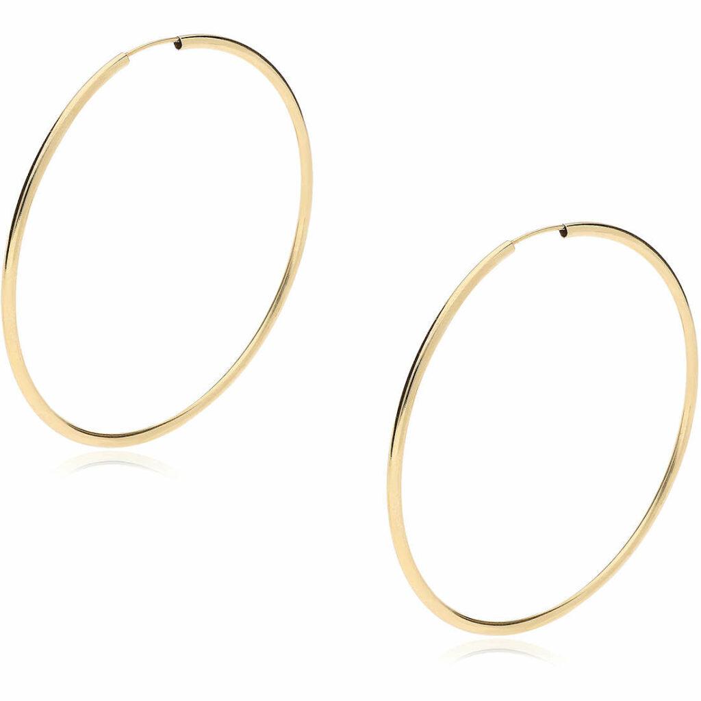 Orecchini a cerchio in oro