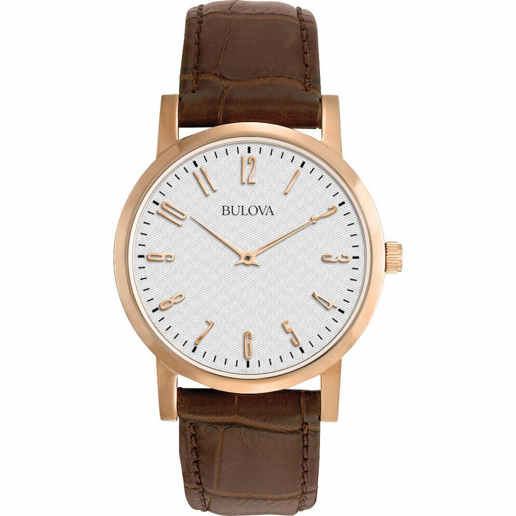orologio da uomo cinturino in pelle