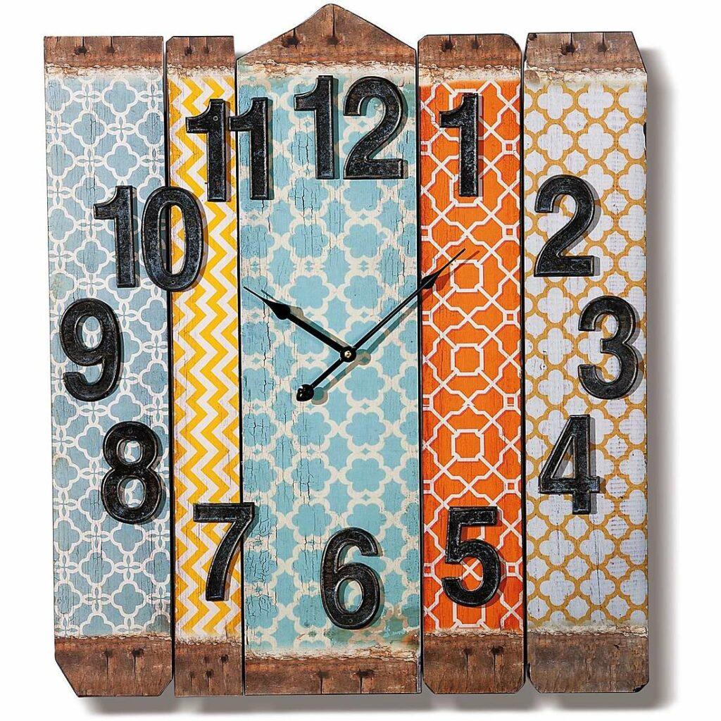 Orologio da parete in legno GioiaPura