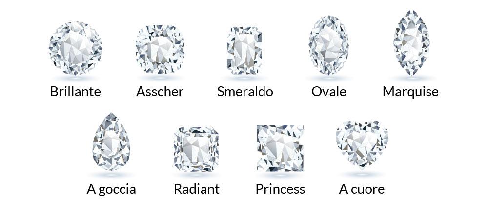 Taglio dei diamanti