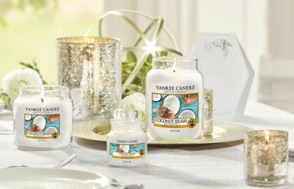 Come decorare una tavola estiva con le candele