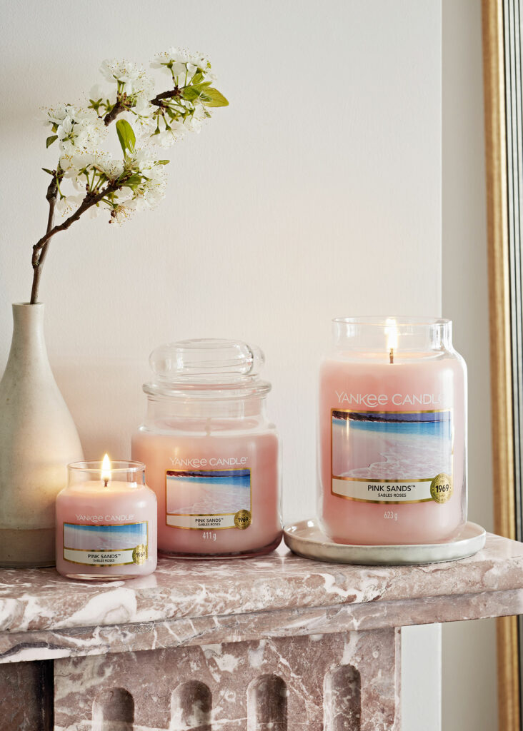 Giare Yankee Candle Pink Sands