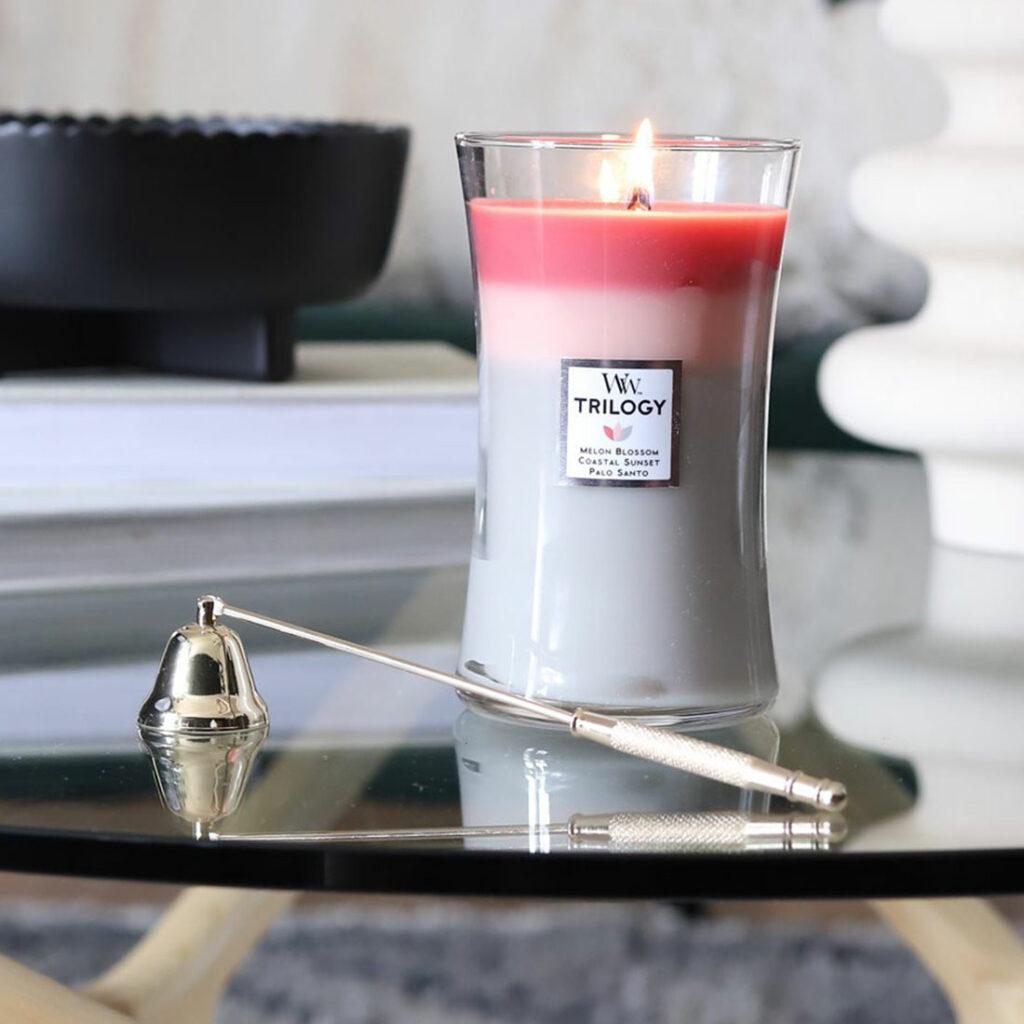 Come si spegne una candela profumata